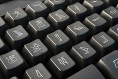 Ancient Egypt Keyboard :::