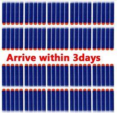 Nerf N-Strike Elite Dart , 200pcs 7.2cm Refill Darts for Nerf N-strike Elite Series Blasters Toy gun Suriel http://www.amazon.com/dp/B00O8AAV8Y/ref=cm_sw_r_pi_dp_-eKYwb1M5KDZH