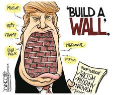 The ONLY wall I'm interested in!  NOT MY PRESIDENT!