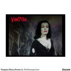 Vampira Plan 9 Poster