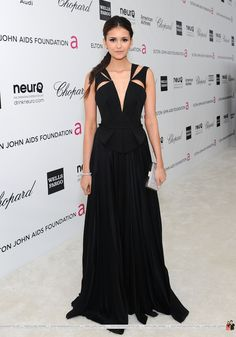 Image of 20th Annual Elton John AIDS Foundation - February, 26 for fans of Ian Somerhalder and Nina Dobrev.