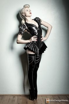 LATEX  FASHION - 20111222 Mosh007 by =MickleDesignWerks on deviantART