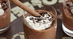 Fodmap, Paleo, Happy Foods, Mousse, Good Food, Pudding, Sweets, Chocolate, Baking