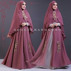 She make a beautiful Muslim hajib masha allaha❤️ Moslem Fashion, Niqab Fashion, Fashion Dresses, Abaya Style, Bridal Hijab, Hijab Trends, Muslim Dress, Indian Designer Outfits, Islamic Fashion