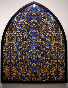 Butterfly Wing Art--Damien Hirst