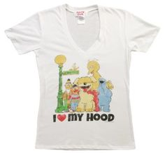 Sesame Street Fashion t-shirt paired up with leggings would look cute! #fashion #style