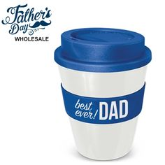 Printed Keep Cup Coffee Travel Mug Fathers Day Wholesale. Fathers Day Stall top seller, wholesale prices, school fundraising made easy. Coffee Travel, Travel Mug, School Fundraisers, He Day, Best Dad, Happy Fathers Day, Fundraising, Dads, Prints