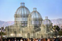 Gallery of Edoardo Tresoldi Unveils Neoclassical Wire Mesh Sculpture at Coachella Festival - 2