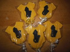 Chocolate polo theme onesie lollipops