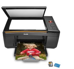 Kodak ESP 3250 All-in-One - Multifunction ( printer / copier / scanner ) - color - ink-jet - copying (up to): 30 ppm (mono) / 29 ppm (color) - printing (up to): 30 ppm (mono) / 29 ppm (color) - 100 sheets - Hi-Speed USB Kodak Printer, Multifunction Printer, Printers, All In One, Jet, Nude, Color, Products, Colour
