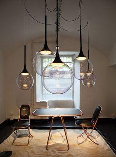 Extraordinary pendant lamp!