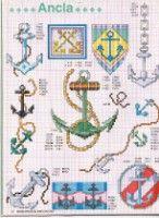 Gallery.ru / Фото #21 - ENCICLOPEDIA ITALIANA 3 - KIM-2 Cross Stitch Sea, Cross Stitch Patterns, Christmas Angels, Cross Stitching, Free Pattern, Kids Rugs, Russia, Watch, Gallery