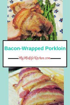 Bacon Wrapped Pork Loin.  #ChocoBaconLove