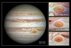 Jupiter's Great Red Spot is shrinking