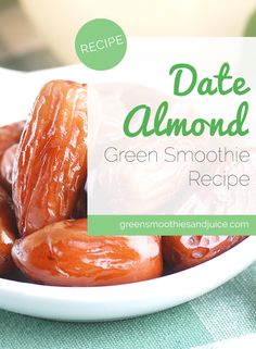 Here's my twist on the classic combination of dates and almonds... in smoothie form!   #smoothie #greensmoothie #smoothierecipe #recipe #healthyliving #healthylifestyle #rawfood