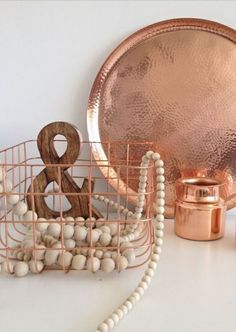 Copper in the kitchen. #organizedwithstyle