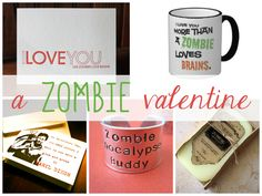 A Zombie Valentine: find that perfect gift (besides brains)  http://vickilesage.blogspot.com/2014/02/a-zombie-valentine.html