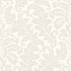 Candice Olson Traditional Damask Wallpaper - Shimmering Details