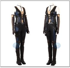 Deadpool 2 Domino Neena Thurman sexy cosplay costume outfits for comic con  adult women customize Manluyunxiao 4b81b65b0acd4