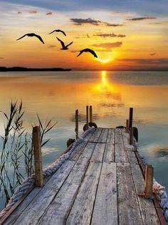 Beautiful sunrise/ sunset