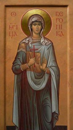 Icon of Saint Nina Religious Images, Religious Icons, Religious Art, Byzantine Art, Byzantine Icons, St Veronica, Roman Church, Best Icons, Orthodox Icons