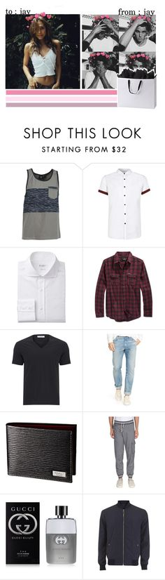 """""""— jay """" by deadlypetals ❤ liked on Polyvore featuring мода, Volcom, Topman, Hurley, Versace, Polo Ralph Lauren, Band of Outsiders, Gucci, women's clothing и women"""