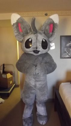 Ciara's mascot cosplay for Minccino from Pokemon Black and White. This was made for AnimeFest 2011 which was this past labor day weekend and it was supe.
