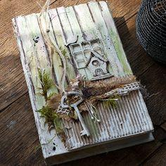 "Handmade by Smilla: Задание ""Altered book"" и мой сарайчик:)"