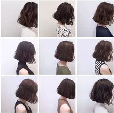 This messy and yet elegant chin length bob is perfect for girls with small faces. The waves could give the hair more volume and even attitude. Short Hair, Don't Care! There are a lot of things that you can do… Continue Reading → Cute Girls Hairstyles, Trendy Hairstyles, Bob Hairstyles, Korean Hairstyles, Hairstyles Videos, Cut My Hair, Wavy Hair, New Hair, Wavy Lob