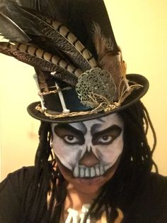 Witch doctor makeup and costume