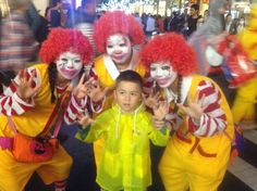 #toxic #GMO @McDonalds #clown #zombies @usj_official with Mikey #stopgmos