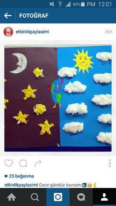 Gece gunduz Sistema Solar, Teacher Quotes, Paper Plates, Diy For Kids, Activities For Kids, Diy And Crafts, Kindergarten, Preschool, Projects To Try