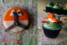 Cupcakes planes