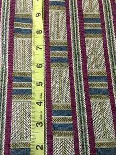 """Upholstery Fabric From Estate Sale- 1 3/4 Yards 55"""" Wide 