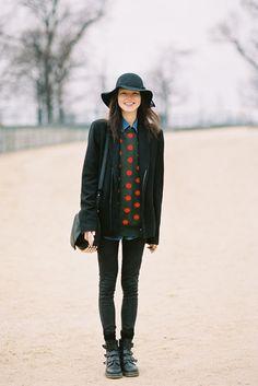 Vanessa Jackman: Paris Fashion Week AW 2012....Lee Hye Jung