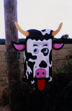 La vache. Saint-Martin-d'Abbat. France.