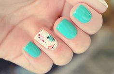turquoise-with-a-twist nails