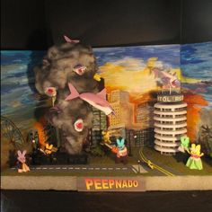 The 23 Most Creative Entries From This Year's Peep Diorama Contest - Offbeat