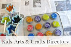 Directory of Kids Arts and Crafts Activities