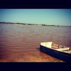 "Comment: juanchg said ""Lago rosado #africa #senegal"""
