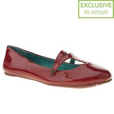 Women's Red Blowfish Sippen Patent at schuh