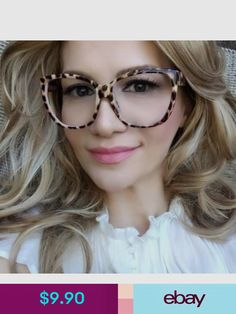 4a15ad2520 Hot CAT EYE Brown Tortoise Sexy Clear Lens Big Nikita Eyeglasses Frames  1377 L