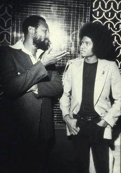 Marvin Gaye & Michael Jackson