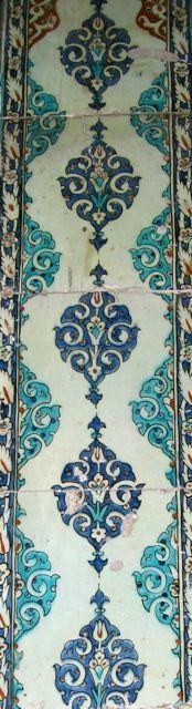 Topkapi palace tiles Turkish Tiles, Antique Tiles, Iron Work, Vietnam, Indoor, Ceramics, Patterns, Places, Home Decor