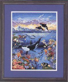 Cross Stitch Sea, Cross Stitch Charts, Cross Stitch Designs, Cross Stitch Patterns, Crewel Embroidery, Embroidery Patterns, Earth Design, Arctic Animals, Wale