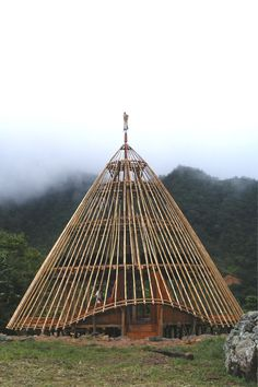 Wae Rebo: The Remaining Trace of Manggarai Architectural Hallmark        There are five stories in an mbaru niang. Each has its own function. The lower story is for sleeping and living, and the highest is for the souls of ancestors, a sacred place in a house.