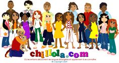 Chillola kids: learn french, spanish, italian, german, english