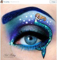 Maquillaje de ojos de fantasía: Fotos de Tal Peleg (7/17) | Ellahoy