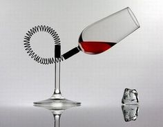 Wine Drinks, Alcoholic Drinks, Unique Wine Glasses, Different Wines, Wine Time, Wine Gifts, Wine Decanter, Wine Recipes, Red Wine