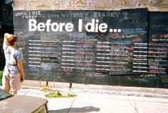 Before I die in New Orleans